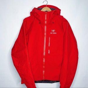 Arcteryx Alpha FL Red Waterproof Jacket